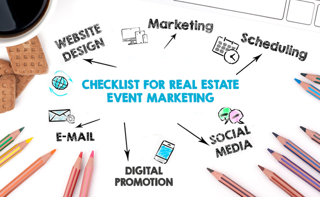 Checklist for Real Estate Event Marketing